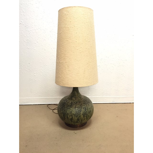 Monumental Lava Glaze Table Lamp - Image 2 of 5