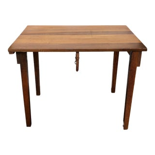 Vintage Mid-Century Modern Boy Scout Folding Table For Sale