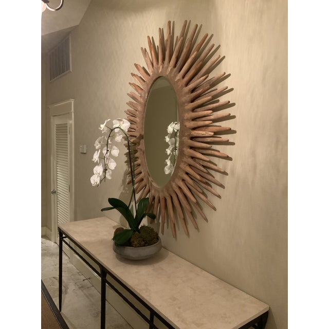 Made Goods Sunburst Donatello Mirror For Sale In Tampa - Image 6 of 13