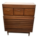 Image of 1960's American of Martinsville Dania Tall Chest For Sale