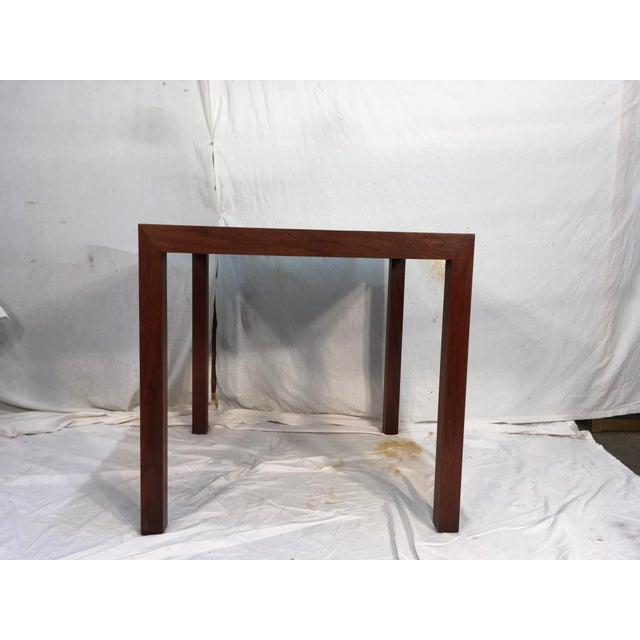 Edward Wormley Walnut Side Table - Image 2 of 11