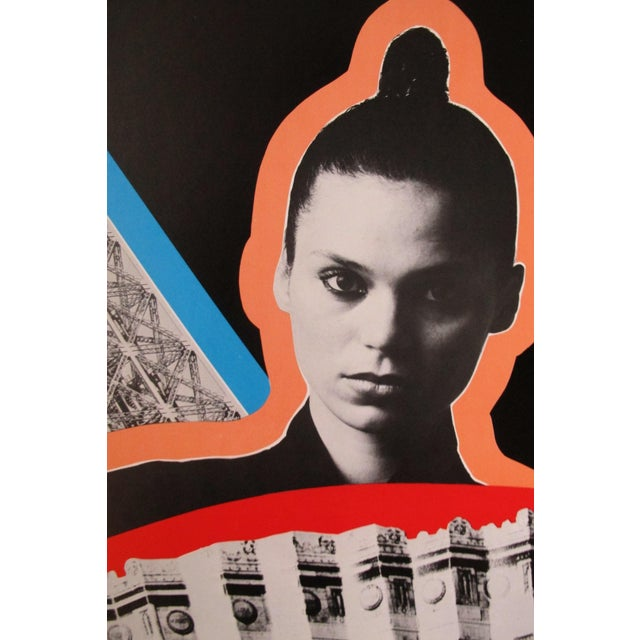 Razzia is one of a handful of modern artists to choose posters as their form of expression. His work uses strong colors...