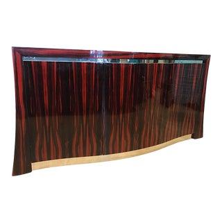 Custom Macassar Ebony Sideboard For Sale
