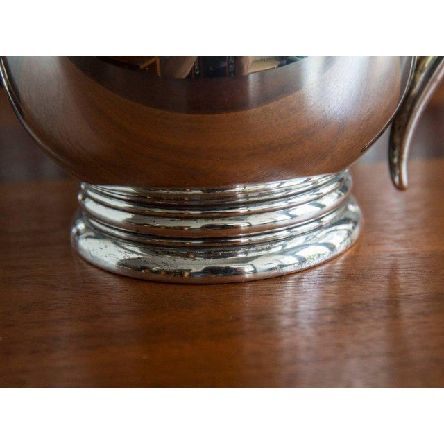"Mid 20th Century ""Royal Danish"" Sterling Coffee and Tea Service by International Silver - 5 Pc. Set For Sale - Image 5 of 7"