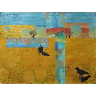 "Debi Pendell ""Conversation"" Original Signed Painting For Sale"