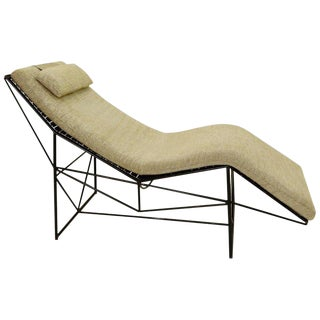 Chaise Longue by Paolo Passerini for Uvet, 1985 For Sale