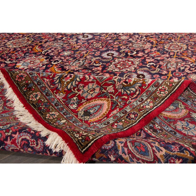 Islamic Apadana-Persian Rug - 8′5″ × 12′4″ For Sale - Image 3 of 4