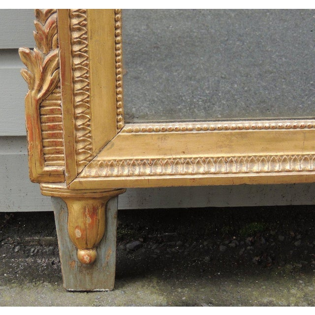 Late 18th C Italian Neoclassical Mirror For Sale - Image 4 of 8