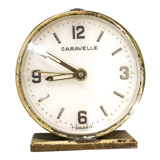 Small Swiss Caravelle Clock