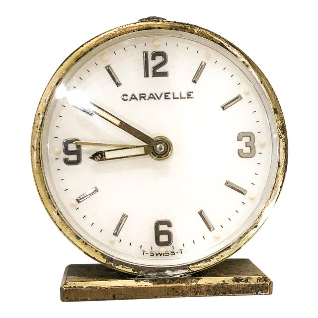 Small Swiss Caravelle Clock - Image 1 of 8