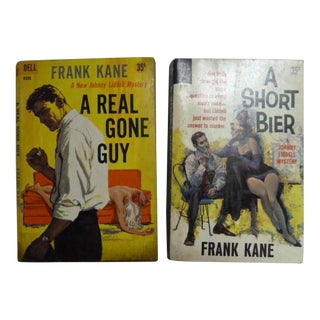 Frank Kane Vintage Mystery Books - A Pair