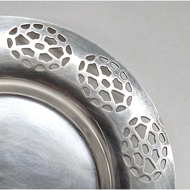 Oneida Silver Cutout Wine Plate - Image 5 of 10
