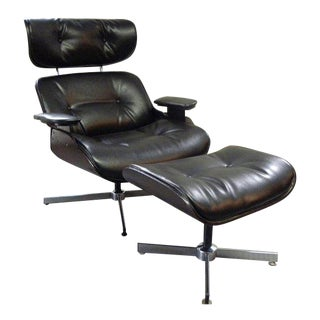 Vintage Plycraft Mid-Century Eames Style Lounge Chair For Sale