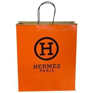 Hermès Display/Prop Tole Shopping Bag For Sale