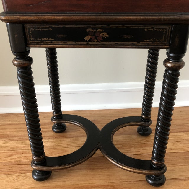 Brown Traditional Hooker Furniture Living Room Dynasty Box on Stand For Sale - Image 8 of 13