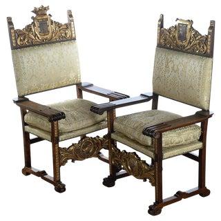 Renaissance Armchairs - Pair For Sale