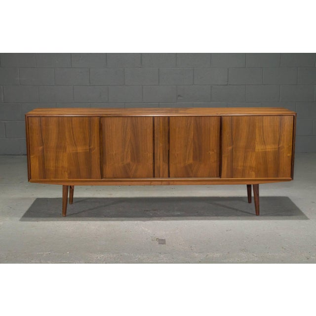 Danish Modern Rosewood Sideboard For Sale - Image 10 of 10