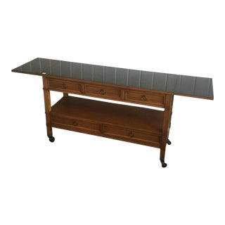 Baker Lacquer Top Sideboard For Sale
