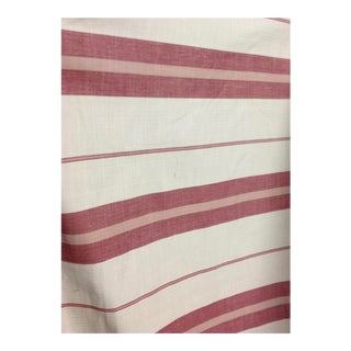 """Adamson Stripe Vineyard Red by Ralph Lauren, Lcf66906f - 36x54"""" For Sale"""