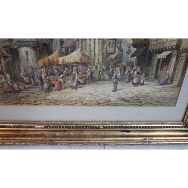 Original Watercolor by Henri Schafer For Sale - Image 4 of 5