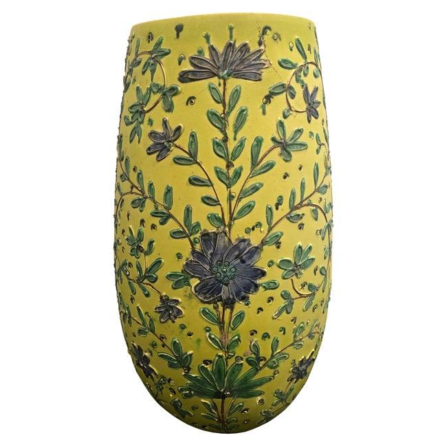 1940s Italian Majolica Vase For Sale In Tampa - Image 6 of 6