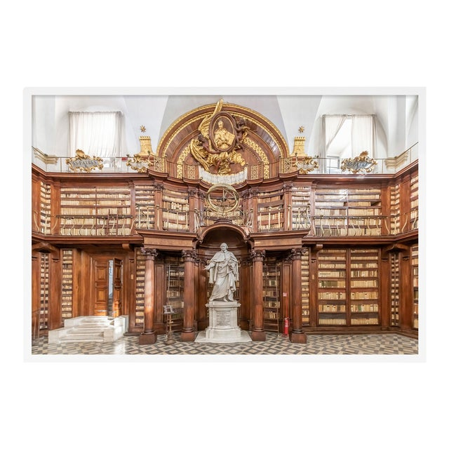 Biblioteca Casanatense, XI, Rome, Italy by Richard Silver in White Framed Paper, Small Art Print For Sale