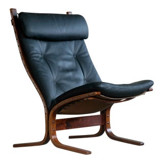 "Classic Ingmar Relling Easy Chairs Model ""Siesta"" for Westnofa, Norway For Sale"