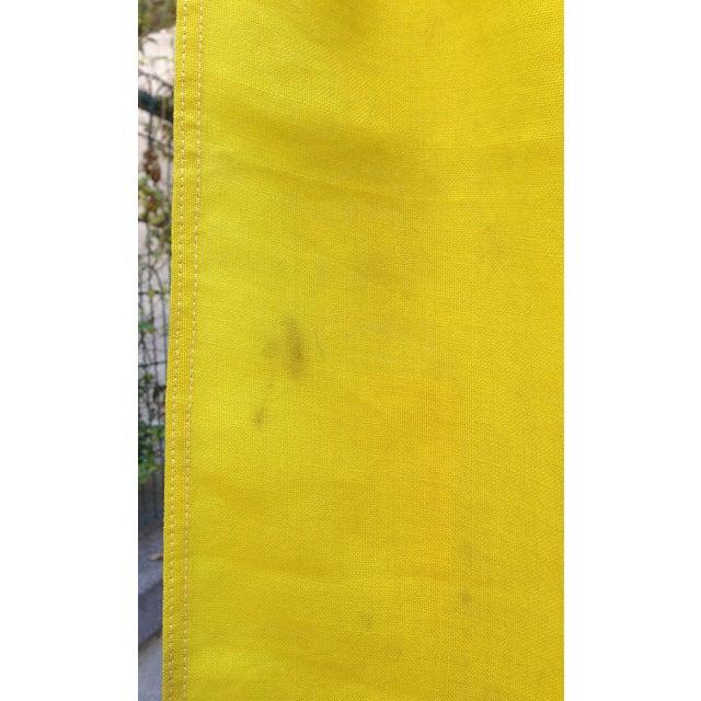 Blue Vintage Sailing Signal Flag For Sale - Image 8 of 11