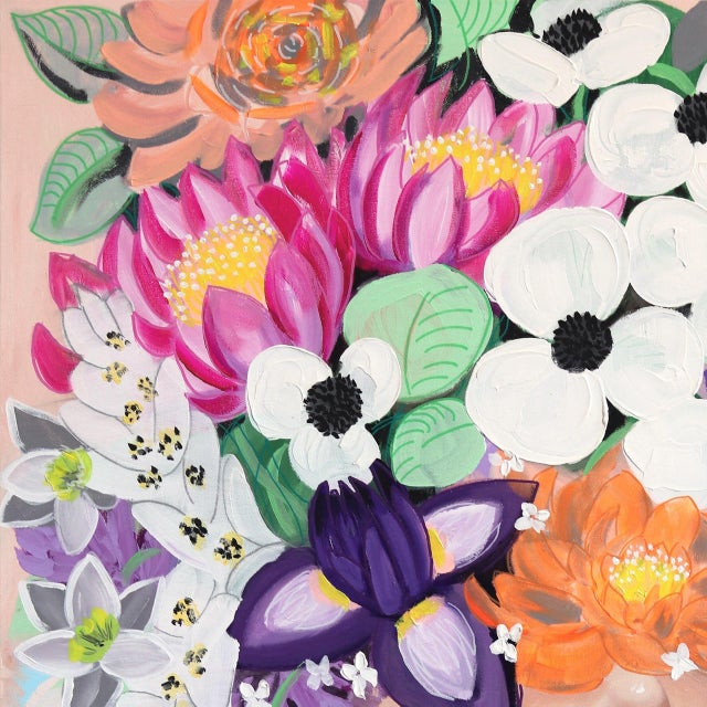 Gazing at Lebanese American artist Sally K.'s floral portraits is consuming and empowering. Inspired by strong, feminine...