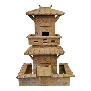 Tang Dynasty Style Ceramic House For Sale