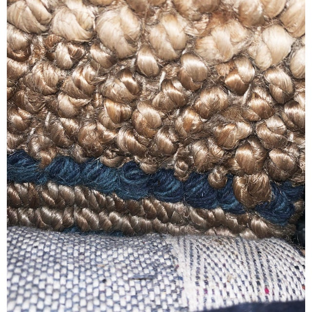 2010s Madrid Gray Jute Area Rug - 8′ × 10′ For Sale - Image 5 of 10