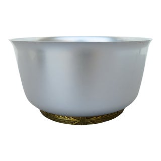 1930s Kensington Aluminum Serving Bowl For Sale
