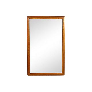 Drexel Oak Wall Mirror For Sale