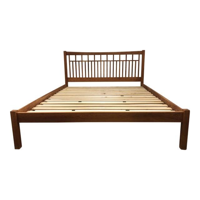 Vermont Furniture Designs California King Cherry Bedframe   Chairish