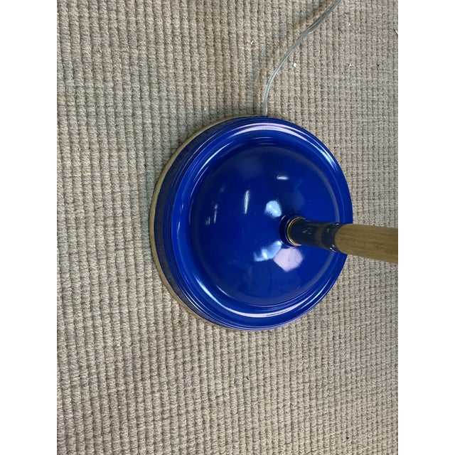 Contemporary Bungalow 5 Spencer Floor Lamp Royal Blue For Sale - Image 3 of 6