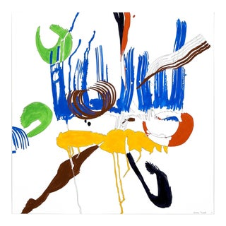 "Ellen Priest ""Jazz Cubano 48: Percussion Drawing"" Painting For Sale"