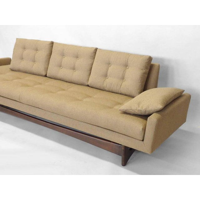 Mid 20th Century Adrian Pearsall Craft Associates Large Gondola Sofa For Sale - Image 5 of 6