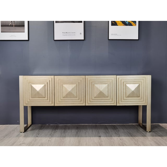 Silver Paxton Console Server For Sale - Image 8 of 9