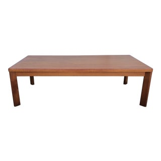 1970s Mid Century Teak Coffee Table by Vejle Stole For Sale