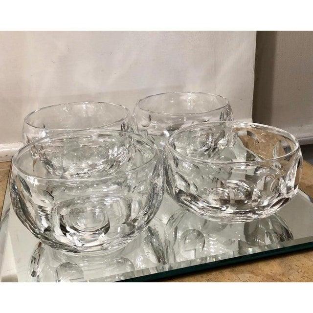 Edinburgh Crystal Signed Edinburgh Scottish Crystal Bowls - Set of 16 For Sale - Image 4 of 7