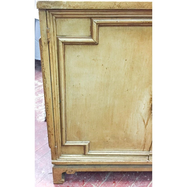 Vintage Hollywood Regency, Asian Style Two Door Cabinet - Image 4 of 8
