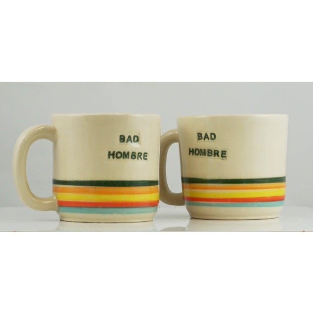 Bad Hombre Mugs - A Pair - Image 2 of 7