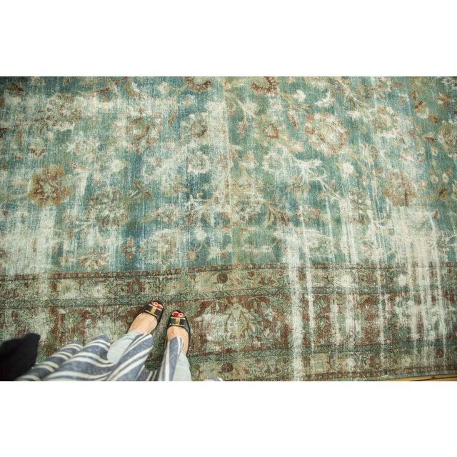 "Vintage Kerman Carpet - 9'9"" x 13'2"" For Sale In New York - Image 6 of 10"