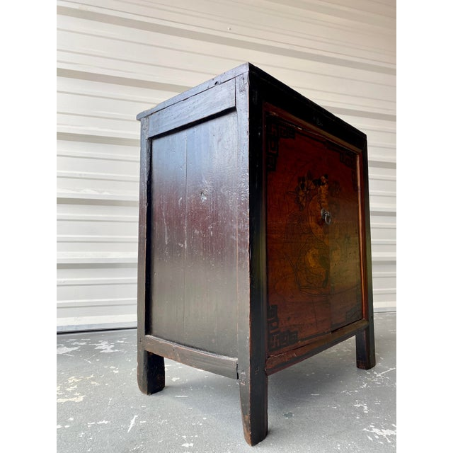 Asian Antique Late 19th Century Antique Mongolian Chinese 2 Door Cabinet For Sale - Image 3 of 11