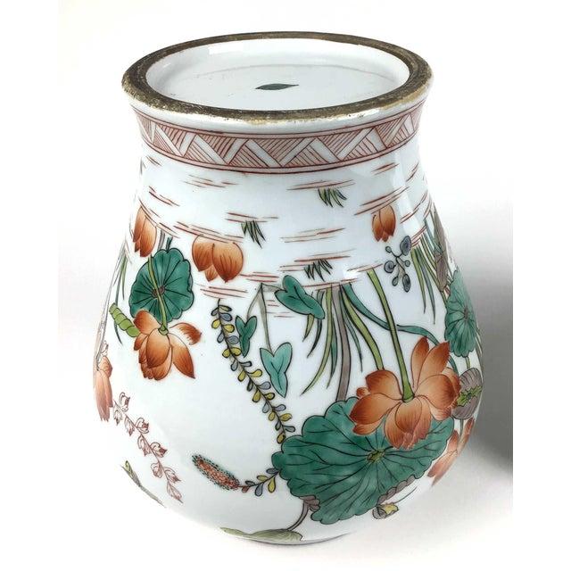 Antique Large Chinese Porcelain Vase For Sale - Image 10 of 13