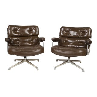 "Pair of Charles & Ray Eames ""Time Life"" Armchairs For Sale"