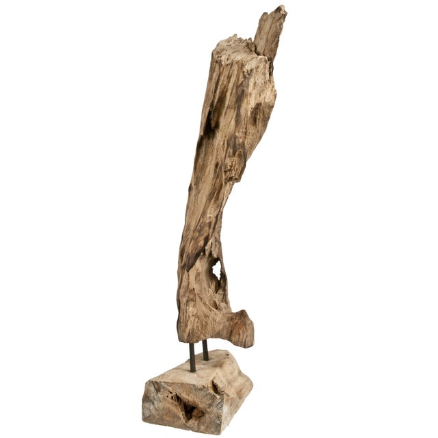 Recycled Driftwood on Stand - Image 2 of 3