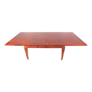 Italian Modern Dining Table by Aldo Tura For Sale