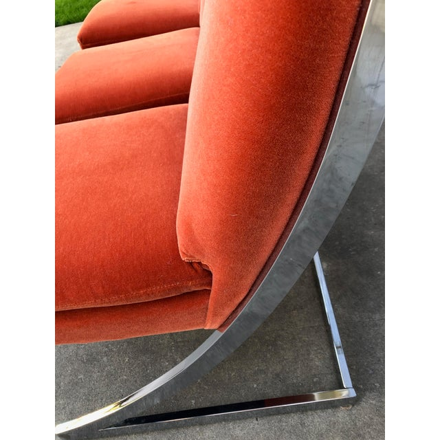 Metal Milo Baughman Chrome Z Dining Chairs for Design Institute of America - Set of 6 For Sale - Image 7 of 12