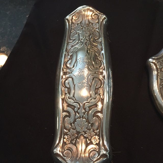 Sterling Victorian Mirror Set - Image 7 of 7